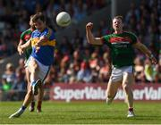 23 June 2018; Robbie Kiely of Tipperary in action against Colm Boyle of Mayo during the GAA Football All-Ireland Senior Championship Round 2 match between Tipperary and Mayo at Semple Stadium in Thurles, Tipperary. Photo by Ray McManus/Sportsfile