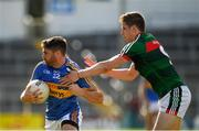 23 June 2018; Philip Austin of Tipperary in action against Lee Keegan of Mayo during the GAA Football All-Ireland Senior Championship Round 2 match between Tipperary and Mayo at Semple Stadium in Thurles, Tipperary. Photo by Ray McManus/Sportsfile