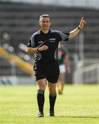 23 June 2018; Referee maurice Deegan during the GAA Football All-Ireland Senior Championship Round 2 match between Tipperary and Mayo at Semple Stadium in Thurles, Tipperary. Photo by Ray McManus/Sportsfile