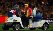 23 June 2018; Peter O'Mahony of Ireland is stretchered from the pitch during the 2018 Mitsubishi Estate Ireland Series 3rd Test match between Australia and Ireland at Allianz Stadium in Sydney, Australia. Photo by Brendan Moran/Sportsfile