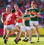 23 June 2018; James O'Donoghue of Kerry during the Munster GAA Football Senior Championship Final match between Cork and Kerry at Páirc Ui Chaoimh in Cork. Photo by Stephen McCarthy/Sportsfile