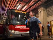24 June 2018; Stephen Cluxton of Dublin arrives prior to the Leinster GAA Football Senior Championship Final match between Dublin and Laois at Croke Park in Dublin. Photo by Stephen McCarthy/Sportsfile