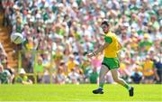 24 June 2018; Ryan McHugh of Donegal scores his side's second goal of the game during the Ulster GAA Football Senior Championship Final match between Donegal and Fermanagh at St Tiernach's Park in Clones, Monaghan. Photo by Ramsey Cardy/Sportsfile