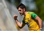 24 June 2018; Ryan McHugh celebrates after scoring a goal during the Ulster GAA Football Senior Championship Final match between Donegal and Fermanagh at St Tiernach's Park in Clones, Monaghan. Photo by Philip Fitzpatrick/Sportsfile