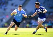 24 June 2018; Paddy Andrews of Dublin in action against Darren Strong of Laois during the Leinster GAA Football Senior Championship Final match between Dublin and Laois at Croke Park in Dublin. Photo by Stephen McCarthy/Sportsfile