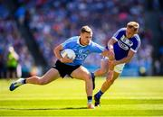 24 June 2018; Paul Mannion of Dublin in action against Damien O'Connor of Laois during the Leinster GAA Football Senior Championship Final match between Dublin and Laois at Croke Park in Dublin. Photo by Stephen McCarthy/Sportsfile