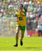 24 June 2018; Odhran MacNiallais of Donegal during the Ulster GAA Football Senior Championship Final match between Donegal and Fermanagh at St Tiernach's Park in Clones, Monaghan. Photo by Ramsey Cardy/Sportsfile