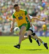 24 June 2018; Patrick McBrearty of Donegal during the Ulster GAA Football Senior Championship Final match between Donegal and Fermanagh at St Tiernach's Park in Clones, Monaghan. Photo by Ramsey Cardy/Sportsfile