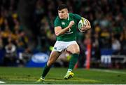 23 June 2018; Jacob Stockdale of Ireland during the 2018 Mitsubishi Estate Ireland Series 3rd Test match between Australia and Ireland at Allianz Stadium in Sydney, Australia. Photo by Brendan Moran/Sportsfile