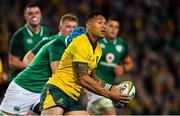 23 June 2018; Israel Folau of Australia during the 2018 Mitsubishi Estate Ireland Series 3rd Test match between Australia and Ireland at Allianz Stadium in Sydney, Australia. Photo by Brendan Moran/Sportsfile