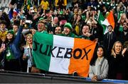 23 June 2018; Ireland fans during the 2018 Mitsubishi Estate Ireland Series 3rd Test match between Australia and Ireland at Allianz Stadium in Sydney, Australia. Photo by Brendan Moran/Sportsfile
