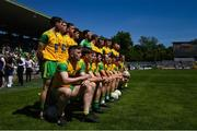 24 June 2018; Patrick McBrearty and his Donegal teammates ahead of the Ulster GAA Football Senior Championship Final match between Donegal and Fermanagh at St Tiernach's Park in Clones, Monaghan. Photo by Ramsey Cardy/Sportsfile