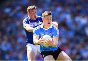 24 June 2018; Con O'Callaghan of Dublin in action against Kieran Lillis of Laois during the Leinster GAA Football Senior Championship Final match between Dublin and Laois at Croke Park in Dublin. Photo by Stephen McCarthy/Sportsfile