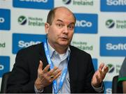 26 June 2018; CEO of Ireland Hockey Jerome Pels during an Ireland Hockey World Cup Media Day at SoftCo Ireland in South County Business Park, Leopardstown, Dublin. Photo by Harry Murphy/Sportsfile