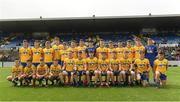 17 June 2018; The Roscommon squad before the EirGrid Connacht GAA Football U20 Championship Final match between Mayo and Roscommon at Dr Hyde Park in Roscommon. Photo by Piaras Ó Mídheach/Sportsfile