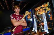 28 June 2018; Jack Canning of Galway was in Token Arcade, in Smithfield, Dublin today ahead of the Bord Gáis Energy GAA Hurling U-21 Munster and Leinster Finals. Wexford play Galway in O' Moore Park and Cork play Tipperary in Páirc Uí Chaoimh. Both games are scheduled to take place on Wednesday, July 4 with a 7.30pm throw-in. Fans can visit www.instagram.com/bgegaa for news, behind-the-scenes content and competitions over the course of the summer. See #HurlingToTheCore for more. Photo by Sam Barnes/Sportsfile