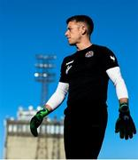 29 June 2018; Bohemians goalkeeper Shane Supple prior to the SSE Airtricity League Premier Division match between Bohemians and St Patrick's Athletic at Daymount Park in Dublin. Photo by David Fitzgerald/Sportsfile