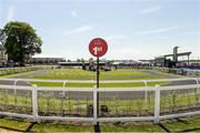 30 June 2018; A general view of the parade ring during day 2 of the Dubai Duty Free Irish Derby Festival at the Curragh Racecourse in Kildare. Photo by Matt Browne/Sportsfile