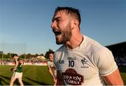 30 June 2018; Fergal Conway of Kildare celebrates after the GAA Football All-Ireland Senior Championship Round 3 match between Kildare and Mayo at St Conleth's Park in Newbridge, Kildare. Photo by Piaras Ó Mídheach/Sportsfile