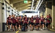 1 July 2018; Galway players and management arrive prior to the Leinster GAA Hurling Senior Championship Final match between Kilkenny and Galway at Croke Park in Dublin. Photo by Stephen McCarthy/Sportsfile