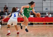 1 July 2018; Aine McKenna of Ireland in action against Christiana Menelaou of Cyprus during the FIBA 2018 Women's European Championships for Small Nations Classification 5-6 match between Cyprus and Ireland at Mardyke Arena, Cork, Ireland. Photo by Brendan Moran/Sportsfile
