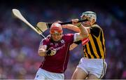 1 July 2018; Conor Whelan of Galway in action against Paddy Deegan of Kilkenny during the Leinster GAA Hurling Senior Championship Final match between Kilkenny and Galway at Croke Park in Dublin. Photo by Stephen McCarthy/Sportsfile