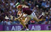 1 July 2018; Conor Whelan of Galway in action against Paul Murphy of Kilkenny during the Leinster GAA Hurling Senior Championship Final match between Kilkenny and Galway at Croke Park in Dublin. Photo by Ramsey Cardy/Sportsfile