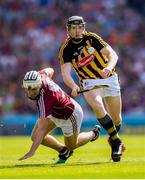 1 July 2018; Walter Walsh of Kilkenny in action against Daithí Burke of Galway during the Leinster GAA Hurling Senior Championship Final match between Kilkenny and Galway at Croke Park in Dublin. Photo by Stephen McCarthy/Sportsfile