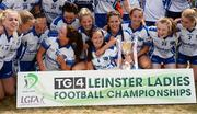 1 July 2018; Laois players celebrate with the cup after the TG4 Leinster Intermediate Championship Final match between Laois and Wicklow at Netwatch Cullen Park, Carlow. Photo by Piaras Ó Mídheach/Sportsfile