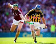 1 July 2018; Ger Aylward of Kilkenny in action against Adrian Tuohey of Galway during the Leinster GAA Hurling Senior Championship Final match between Kilkenny and Galway at Croke Park in Dublin. Photo by Stephen McCarthy/Sportsfile