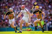 1 July 2018; James Skehill of Galway in action against TJ Reid, left, and Colin Fennelly of Kilkenny during the Leinster GAA Hurling Senior Championship Final match between Kilkenny and Galway at Croke Park in Dublin. Photo by Stephen McCarthy/Sportsfile