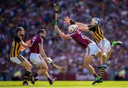 1 July 2018; Gearóid McInerney of Galway and TJ Reid of Kilkenny during the Leinster GAA Hurling Senior Championship Final match between Kilkenny and Galway at Croke Park in Dublin. Photo by Stephen McCarthy/Sportsfile