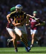 1 July 2018; TJ Reid of Kilkenny is tackled by Adrian Tuohey of Galway during the Leinster GAA Hurling Senior Championship Final match between Kilkenny and Galway at Croke Park in Dublin. Photo by Ramsey Cardy/Sportsfile