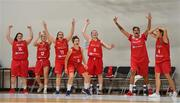 1 July 2018; Malta players celebrate near the end of the FIBA 2018 Women's European Championships for Small Nations 3rd place match between Norway and Malta at Mardyke Arena in Cork, Ireland. Photo by Brendan Moran/Sportsfile