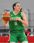 1 July 2018; Fiona O'Dwyer of Ireland during the FIBA 2018 Women's European Championships for Small Nations Classification 5-6 match between Cyprus and Ireland at Mardyke Arena, Cork, Ireland.
