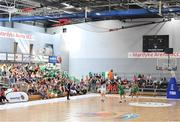 1 July 2018; A general view of the Mardyke Arena during the FIBA 2018 Women's European Championships for Small Nations Classification 5-6 match between Cyprus and Ireland at Mardyke Arena, Cork, Ireland. Photo by Brendan Moran/Sportsfile