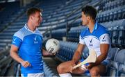 4 July 2018; Every pressure moment, every tackle, every shot and every GAA statistic has the potential to alter the course of a season, a career and the road to Croke Park. Sure, Official Statistics Partner of the GAA, is powering the analysis of the GAA Championship and capturing the numbers behind the performances of the summer. Sure ambassador's Ciarán Kilkenny and Lee Chin are challenging GAA fans to put themselves under pressure and take Sure's online GAA trivia quiz for a chance to win All Ireland Final tickets. Pictured are Ciarán Kilkenny of Dublin and Lee Chin of Wexford at the launch at Croke Park in Dublin. Photo by Sam Barnes/Sportsfile