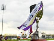 4 July 2018; A general view of the trophy prior to the Bord Gais Energy Leinster Under 21 Hurling Championship 2018 Final match between Wexford and Galway at O'Moore Park in Portlaoise, Co Laois. Photo by Harry Murphy/Sportsfile