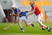 4 July 2018; Ger Browne of Tipperary in action against Conor Cahalane of Cork during the Bord Gáis Energy Munster GAA Hurling U21 Championship Final match between Cork and Tipperary at Pairc Ui Chaoimh in Cork. Photo by Eóin Noonan/Sportsfile