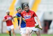 4 July 2018; Jack O'Connor of Cork in action against Brian McGrath of Tipperary during the Bord Gáis Energy Munster GAA Hurling U21 Championship Final match between Cork and Tipperary at Pairc Ui Chaoimh in Cork. Photo by Matt Browne/Sportsfile