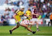 4 July 2018; Rory O'Connor of Wexford in action during the Bord Gais Energy Leinster Under 21 Hurling Championship 2018 Final match between Wexford and Galway at O'Moore Park in Portlaoise, Co Laois. Photo by Harry Murphy/Sportsfile