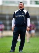 4 July 2018; Wexford manager Tom Mulally prior to the Bord Gais Energy Leinster Under 21 Hurling Championship 2018 Final match between Wexford and Galway at O'Moore Park in Portlaoise, Co Laois. Photo by Harry Murphy/Sportsfile