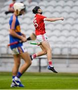 4 July 2018; Jack O'Connor of Cork celebrates after scoring his side's second goal of the game during the Bord Gáis Energy Munster GAA Hurling U21 Championship Final match between Cork and Tipperary at Pairc Ui Chaoimh in Cork. Photo by Eóin Noonan/Sportsfile