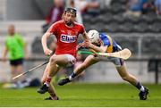 4 July 2018; Jack O'Connor of Cork in action against Killian O'Dwyer of Tipperary during the Bord Gáis Energy Munster GAA Hurling U21 Championship Final match between Cork and Tipperary at Pairc Ui Chaoimh in Cork. Photo by Eóin Noonan/Sportsfile
