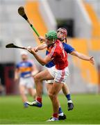4 July 2018; Robbie O'Flynn of Cork in action against Cian Flanagan of Tipperary during the Bord Gáis Energy Munster GAA Hurling U21 Championship Final match between Cork and Tipperary at Pairc Ui Chaoimh in Cork. Photo by Eóin Noonan/Sportsfile