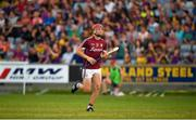 4 July 2018; Jack Canning of Galway in action during the Bord Gais Energy Leinster Under 21 Hurling Championship 2018 Final match between Wexford and Galway at O'Moore Park in Portlaoise, Co Laois. Photo by Harry Murphy/Sportsfile