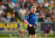 4 July 2018; Referee John O'Brien during the Bord Gais Energy Leinster Under 21 Hurling Championship 2018 Final match between Wexford and Galway at O'Moore Park in Portlaoise, Co Laois. Photo by Sam Barnes/Sportsfile