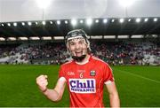 4 July 2018; Mark Coleman of Cork celebrates following the Bord Gáis Energy Munster GAA Hurling U21 Championship Final match between Cork and Tipperary at Pairc Ui Chaoimh in Cork. Photo by Eóin Noonan/Sportsfile