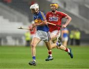 4 July 2018; Ger Browne of Tipperary in action against Conor Cahalane of Cork during the Bord Gáis Energy Munster GAA Hurling U21 Championship Final match between Cork and Tipperary at Pairc Ui Chaoimh in Cork. Photo by Matt Browne/Sportsfile