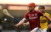 4 July 2018; Patrick Foley of Galway in action against Darren Codd of Wexford during the Bord Gais Energy Leinster Under 21 Hurling Championship 2018 Final match between Wexford and Galway at O'Moore Park in Portlaoise, Co Laois. Photo by Sam Barnes/Sportsfile